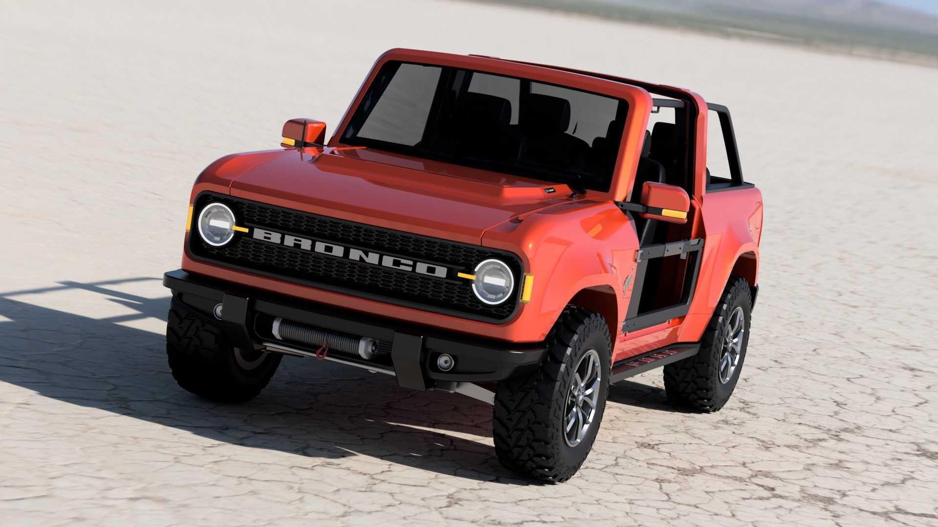 ブロンコ 新型 フォード