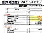 輸入費用内訳、一般登録費用換算表
